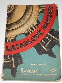 Letadlové motory - Otokar Hána - 1929