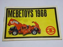 Mebetoys 1968 - prospekt