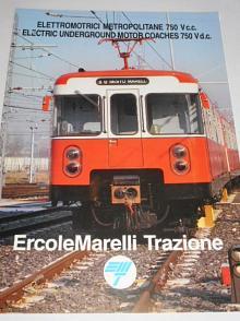 ErcoleMarelli Trazione - elettromotrici metropolitane 750 Vc.c. - prospekt
