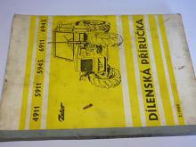 Zetor 4911, 5911, 5945, 6911, 6945 - dílenská příručka, 1980
