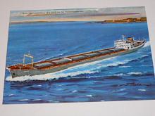 Hitachi Zosen - Fracht-Trampschiff Kladno - pohlednice