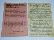 Ardie-Werk A.-G. - letáky - 1930, 1931