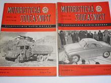 Motoristická současnost - 1957 - čtvrtletník Světa motorů