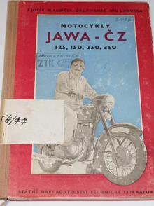 Motocykly Jawa-ČZ 125, 150, 250, 350 - Jozíf, Kubíček, Pivrnec, Hruška - 1957