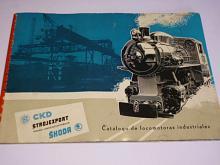 Škoda, ČKD - Catálogo de locomotoras industriales - prospekt