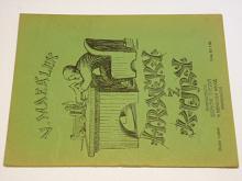 Hračky z kůry - Mazálek - 1923