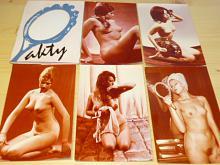 Akty - soubor 5 barevných fotografií