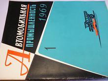 Automobilový průmysl - SSSR - časopis - 1969