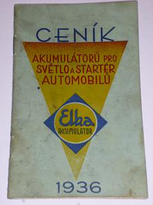 Elka Accumulator - ceník akumulátorů pro světlo a startér automobilů