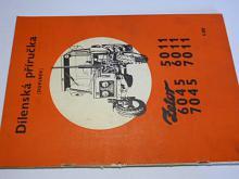 Zetor 5011, 6045, 6011, 7045, 7011 - dílenská příručka, doplněk - 1980