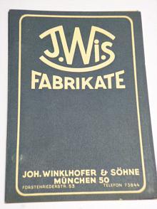 J.Wi.S Fabrikate - Erzeugnisse - Rollenketten, Haubenhalter,