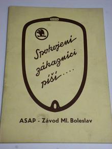 Škoda - spokojení zákazníci píší... ASAP Závod Ml. Boleslav
