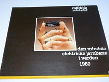 Märklin mini-club 1980 - prospekt