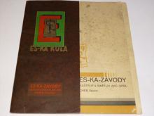 ES-KA - vzorník původních jízdních kol - 1931 - prospekt