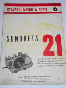 Sonoreta E 21 - Sláva Nečásek - stavební návod a popis 6