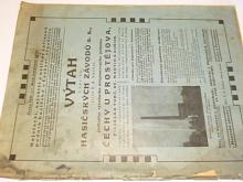 Hasičské závody a. s. dříve R. A. Smekal Čechy u Prostějova - výtah z ceníku - prospekt