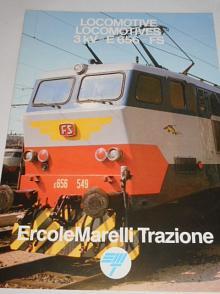ErcoleMarelli Trazione - locomotive 3 kV - E 656 - FS - prospekt