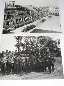 Vojáci + technika - fotografie - 8 kusů