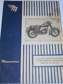 JAWA-ČZ 125-150 ccm - 1957 - katalog náhradních dílů a příslušenství - Mototechna