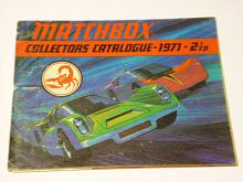 Matchbox collectors catalogue - 1971-2 1/2p - prospekt