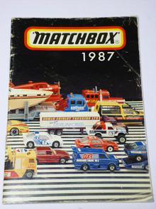 Matchbox 1987 - katalog - prospekt