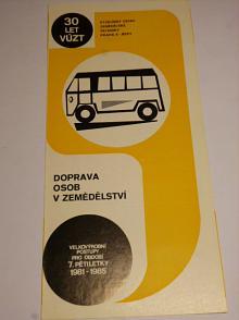 Doprava osob v zemědělství - VÚZT Praha