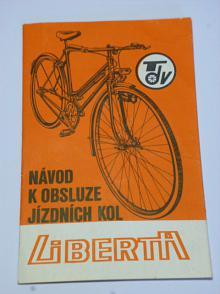 Liberta - návod k obsluze jízdních kol - 1984