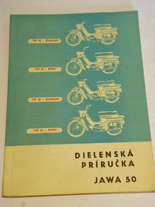 JAWA 50 - dielenská príručka - 1967 - Jawa 50 typ 05, 20, 21