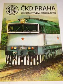 ČKD motorová lokomotiva 1435 Bó-Bó 1800 ř.T 478.3 prospekt