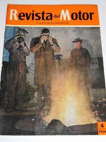 Revista del Motor Checoslovaca - 1956 - JAWA, ČZ...
