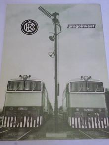 ČKD - Die Motorlokomotive T 478.3 - Brejlovec - prospekt