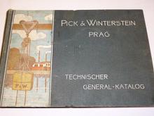 Pick a Winterstein Prag Technischer General - Katalog - 1903