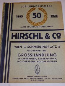 Hirschl a co. Wien - Jubiläums ausgabe 1885 - 1935