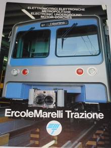 ErcoleMarelli Trazione - elettromotrici elettroniche metropolitane... - prospekt
