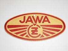 JAWA-ČZ 250 typ 353 - visačka z nového motocyklu - 1957