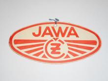 JAWA-ČZ 250 typ 353 - visačka z nového motocyklu - 1958