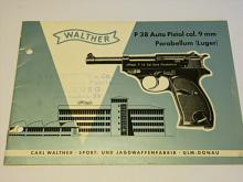 Walther P 38 Auto Pistol cal 9 mm Parabellum (Luger)