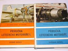 Příručka leteckého motoráře I., II. - Vršinský, Blatný - pístové motory, turbínové motory