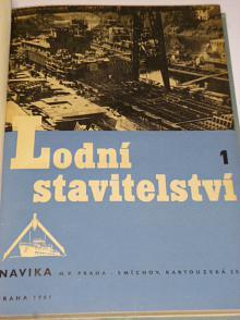 Lodní stavitelství - 1961 - 1962