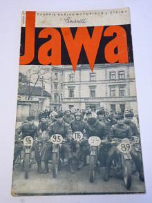 JAWA - časopis našich motoristů - 4/1937