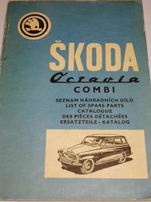 Škoda Octavia Combi - seznam náhradních dílů - 1969 - 1970