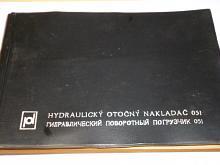Hydraulický otočný nakladač HON 051 -katalog náhradních dílů