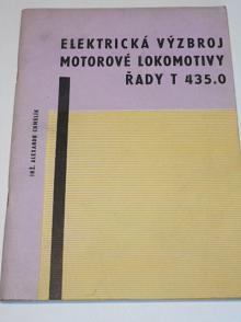 Elektrická výzbroj motorové lokomotivy T 435.0 - Alexandr Chmelík - 1966