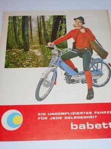 Babetta - moped - JAWA - prospekt - Motokov