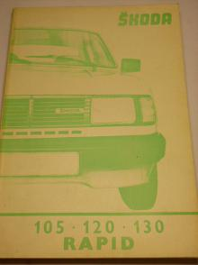 Škoda 105, 120, 130, Rapid - Workshop manual - 1985