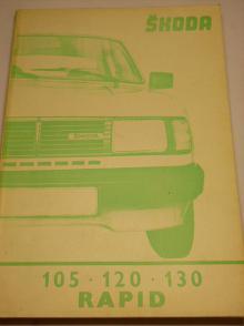 Škoda 105, 120, 130, Rapid - Workshop manual - 1985