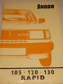 Škoda 105, 120, 130, Rapid - Werkstättenhandbuch - 1985