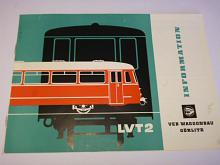 Veb Waggonbau Görlitz - LVT 2 - prospekt - 1969