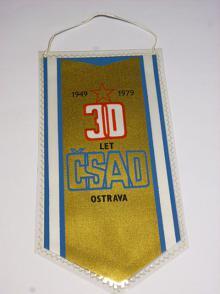 ČSAD Ostrava - 30 let - 1949 - 1979 - vlaječka