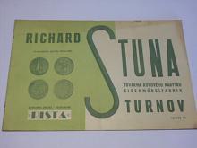 Rista - Richard Stuna - továrna kovového nábytku Turnov - prospekt